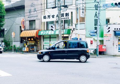 私とクルマ。 FUMIKO KAWAZOE × FIAT MULTIPLA