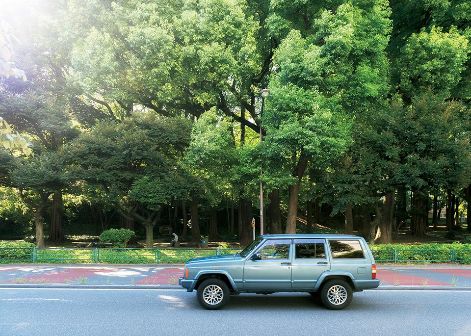 EMIRI FUJIMOTO × JEEP Cherokee XJ