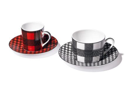 冬のティータイムを彩る〈ディオール メゾン〉のカップ&ソーサ。