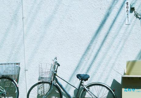 下北沢、誰かの自転車