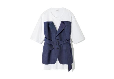 夏の装いを彩る、〈ジュンヤ ワタナベ・コム デ ギャルソン〉のTシャツ。