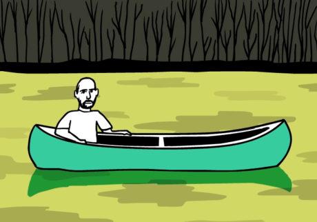 河内タカの素顔の芸術家たち。ピーター・ドイグ