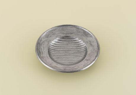 骨董王子・郷古隆洋の日用品案内。舩木研兒の銀彩皿