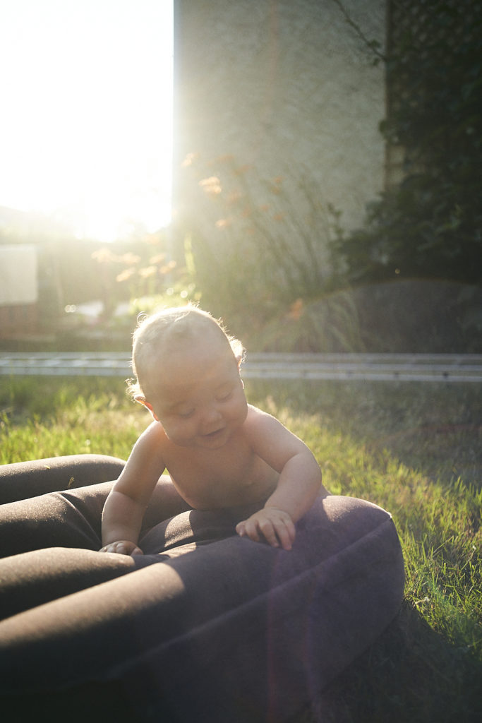 prendre un bain de soleil
