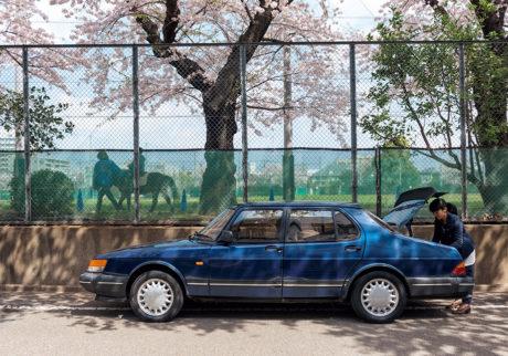 私とクルマ。 TOMOKO SATO × SAAB 900