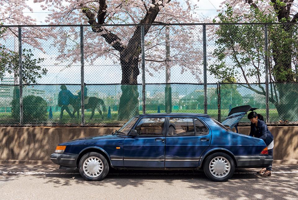 TOMOKO SATO × SAAB 900