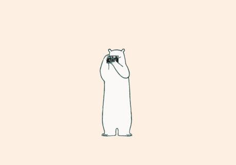 白くまのナヌークのつぶやき。「笑うこと。」