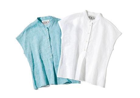 〈ロンハーマン〉が〈モンテックス〉のシャツを日本人の体型に合わせて別注。