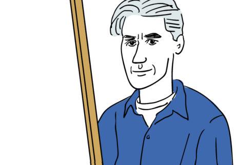河内タカの素顔の芸術家たち。ウィレム・デ・クーニング