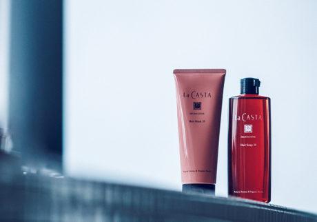 キレイの理屈      門外不出のヘアレシピで作り上げられた、ブランドの代名詞。