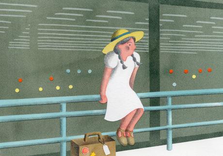 今日1日を、このイラストと。菊野 友美 vol.5