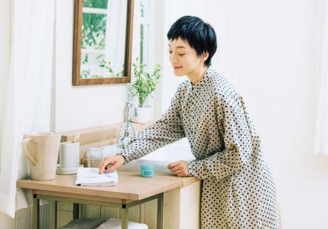 Beautiful Teethwith MASHIROパウダー歯磨き〈MASHIRO〉との暮らし。モデルの高山都さんが登場。