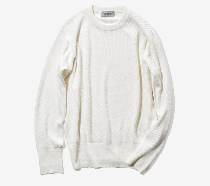 JOHN SMEDLEY knitted thermal sweater