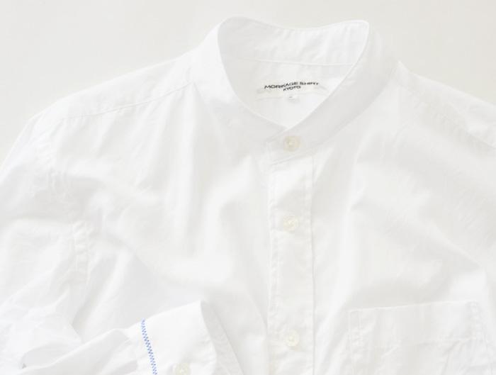 〈モリカゲシャツ〉のシャツ