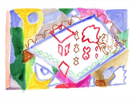 今日1日を、このイラストと。藤田恵 vol.4