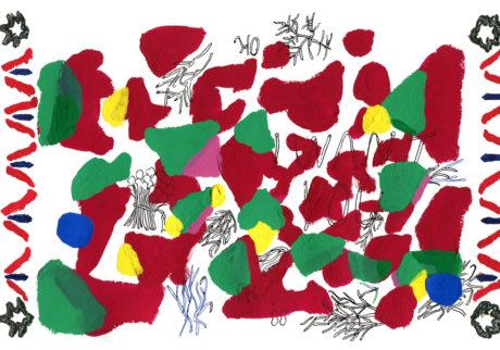 今日1日を、このイラストと。藤田恵 vol.5