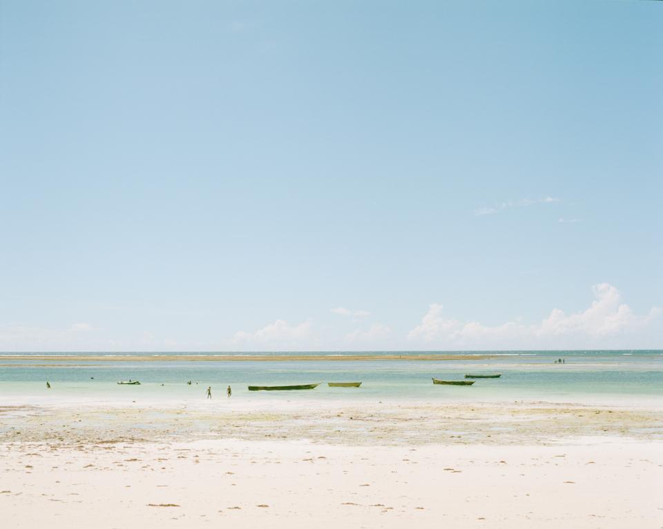 ディア二のビーチ。夜はビーチで知り合った人たちと BBQ。 タコをとにかく硬くして食べる。硬い。イカも硬い。