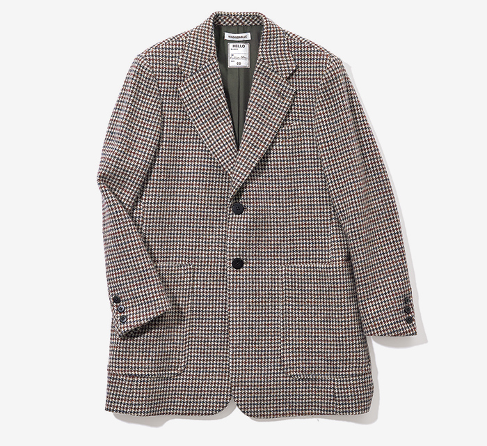 MADISONBLUE checked jacket