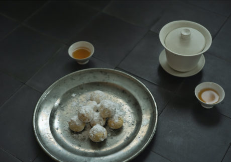 長田佳子の季節のハーブを愉しむお菓子。ディルとオレンジのボーロ