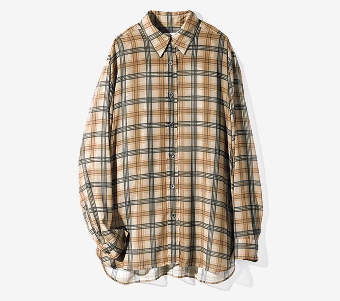 DRIES VAN NOTEN checked shirt