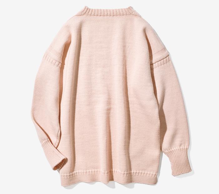 LE TRICOTEUR big size sweater
