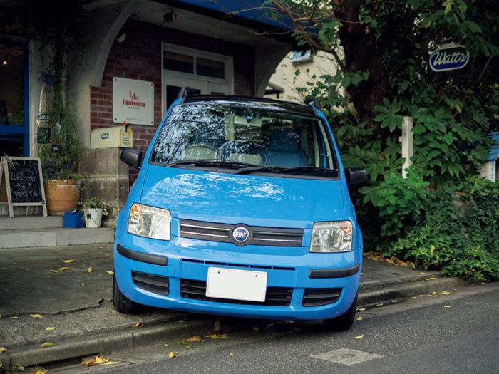 KEIKO KURITA × FIAT PANDA