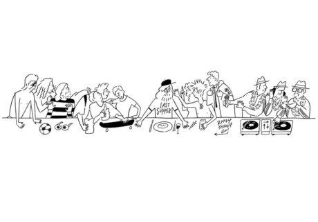 イラストレーターでアーティストの長場雄ソロエキシビション「The Last Supper」が開催!