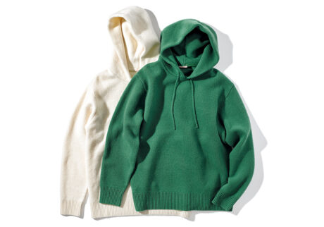 残糸や残布で衣服を作る〈ライテンダー〉が今季ローンチ。