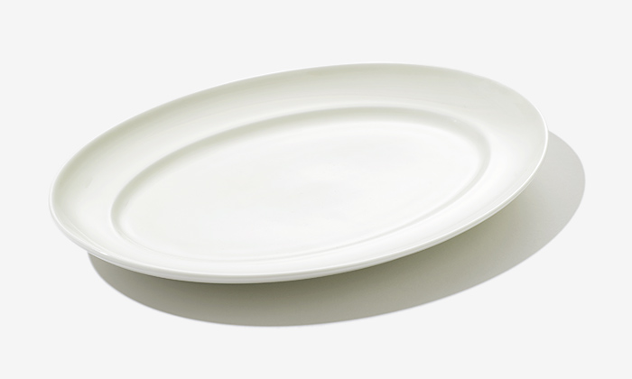 FOOD  FOR THOUGHT original oval plate