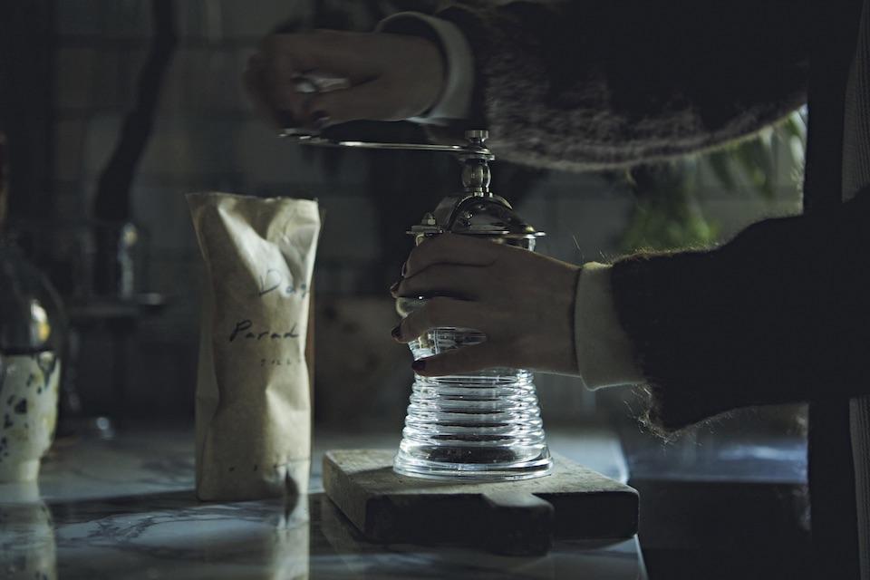 コーヒーが飲めるようになったお祝いに、友人からプレゼントされた思い出のミル。