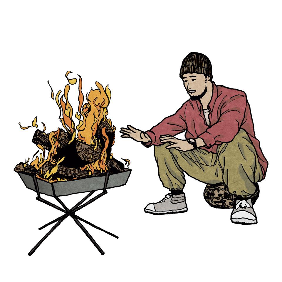 焚き火 | keep the flame