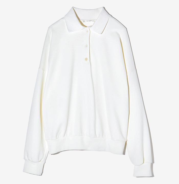 THE ROW white sweat shirt