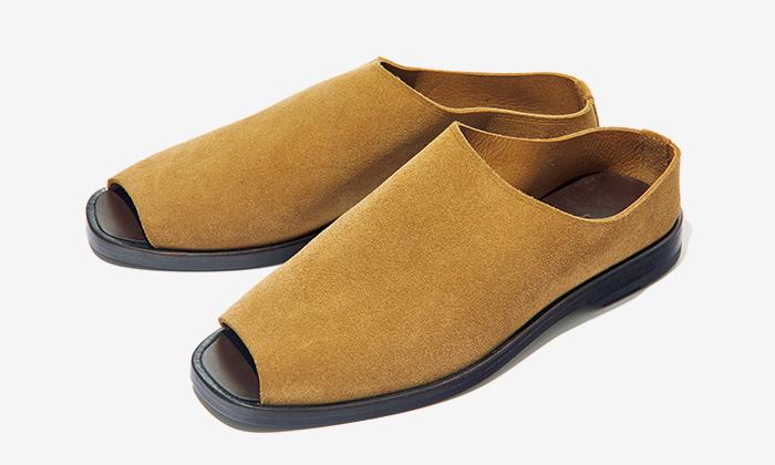 LEMAIRE suede sandals