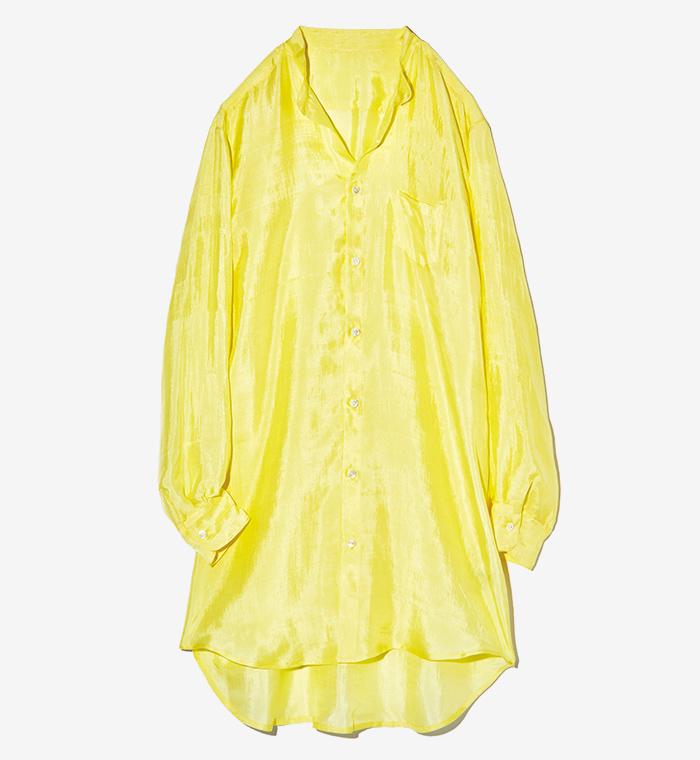 URYYA long silk blouse
