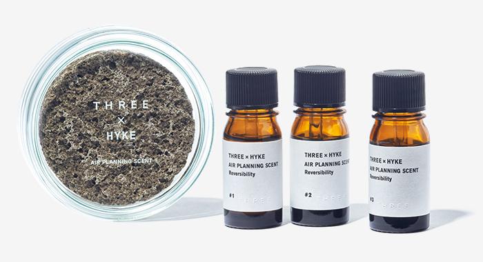 THREE × HYKE room fragrance
