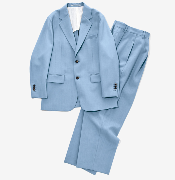 YLEVE blue jacket  and pants