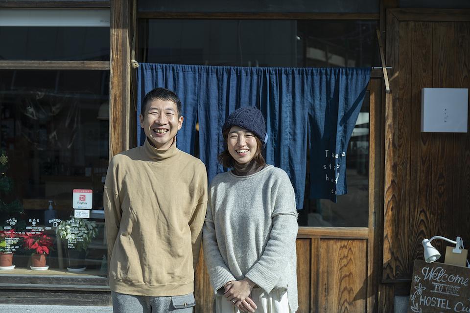 暮らし方や仕事ぶりが魅力的な人に会いに行く連載「あの人に会いたい!」では、古民家ゲストハウスをご夫婦で営む堀場さくらさんを竹田に訪ねた。