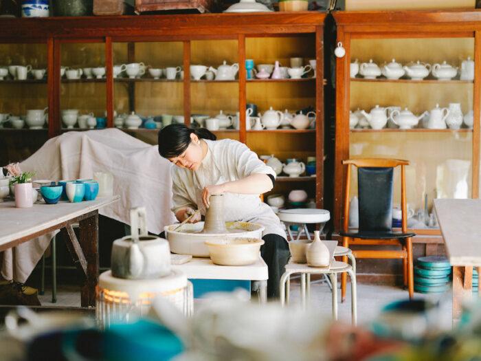 連載「食卓で使いたい、大分の手仕事」では、注目の作り手を訪ねる。