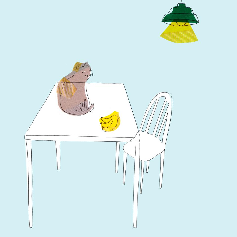ねこバナナ