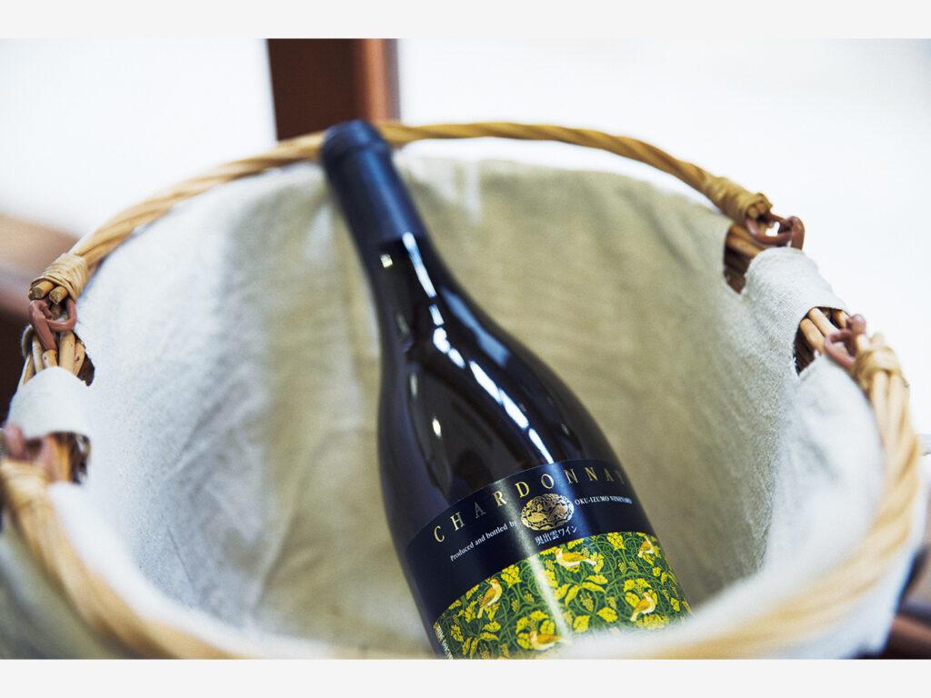 『奥出雲葡萄園』のフラッグシップワインの「シャルドネ」は「瑞風」でも提供されている。