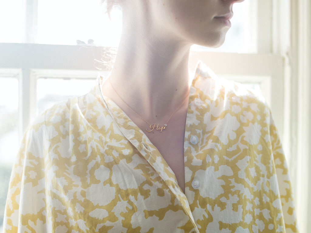 RH Jewelry featuring Forevermark lettered necklace
