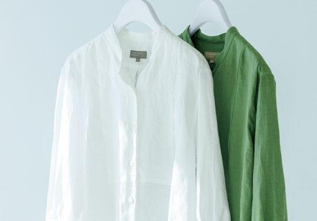 & Essential Things 〈マーガレット・ハウエル〉と〈MHL.〉のシャツ