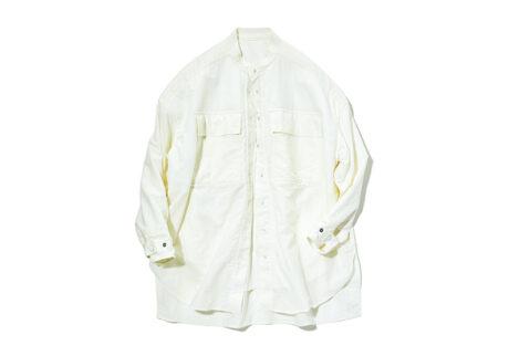 下着いらずのルームウェア、〈カシグ〉のワークシャツ。