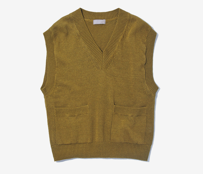 MARGARET  HOWELL green vest