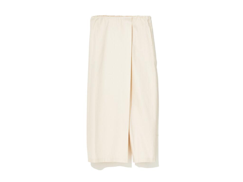 ロールスカートスタイルパンツ¥16,500