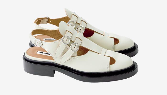 JIL SANDER flat sandals