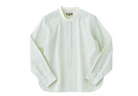 昨年、ブランド誕生50周年を迎えた〈マーガレット・ハウエル〉の限定シャツ。
