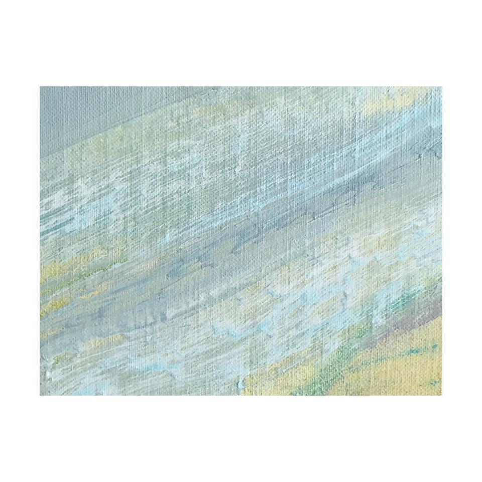 「オーロラ」 キャンバス、油彩