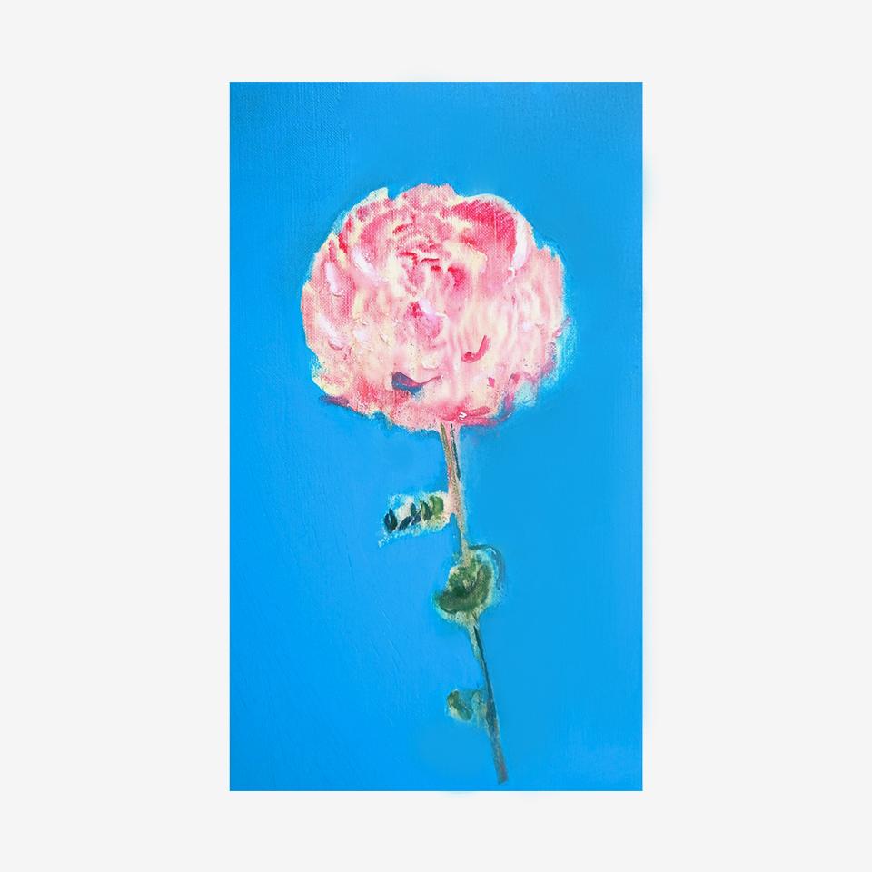 「薔薇」 キャンバス、油彩