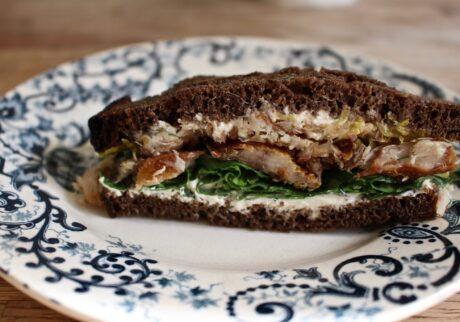 スモークニシン サンドイッチ